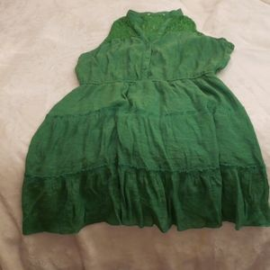 Xlarge Green Lacy Dress